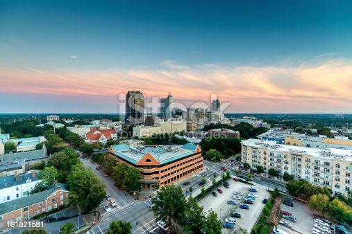 istock Downtown Raleigh Twilight, North Carolina 161821581