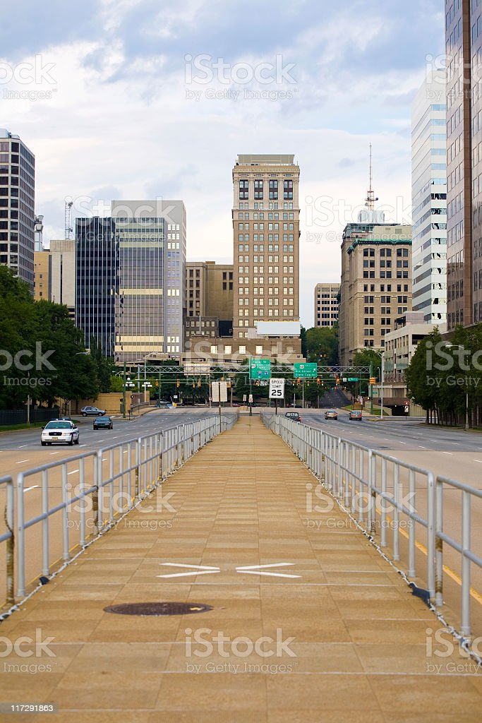 Downtown Richmond, Virginia royalty-free stock photo