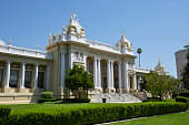 Day time view of the historic Riverside County Courthouse, in the heart of the Riverside, California's Civic Center.