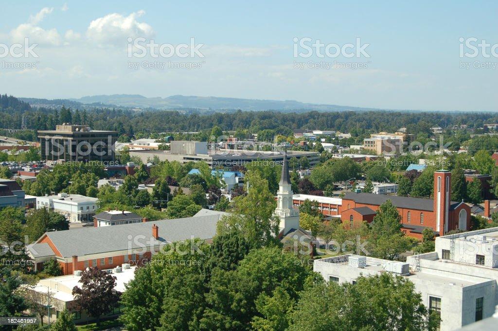 Downtown Salem stock photo