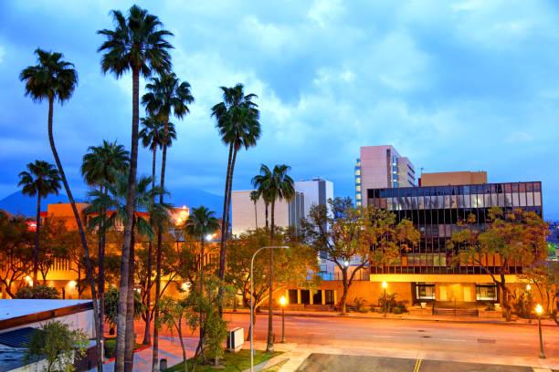 Downtown San Bernardino, California stock photo