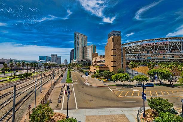 Downtown San Diego, California stock photo