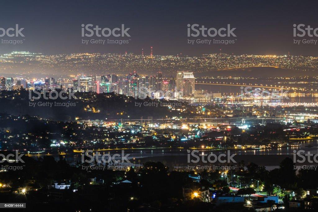 El centro de la ciudad de San Diego - foto de stock