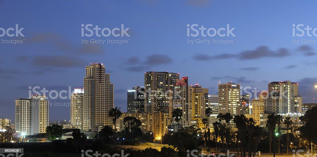 Downtown San Diego royalty-free stock photo