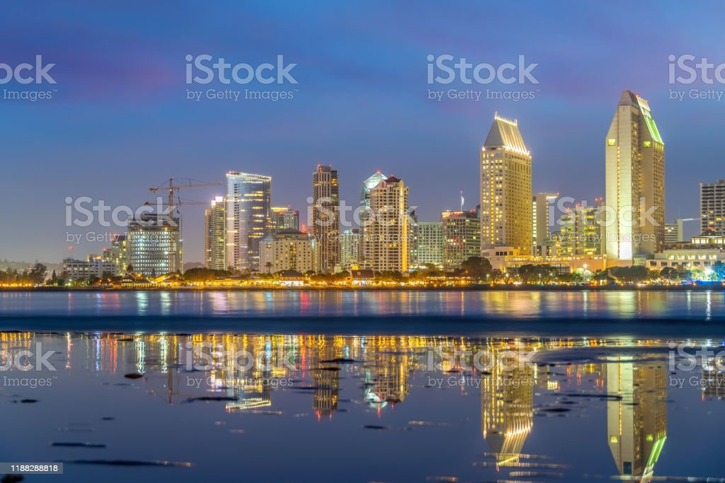 Downtown San Diego Skyline In California Usa Stock Photo Download Image Now Istock