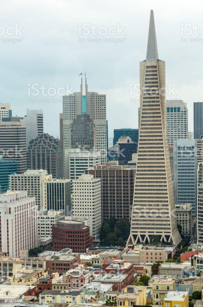 Downtown,  San Francisco stock photo