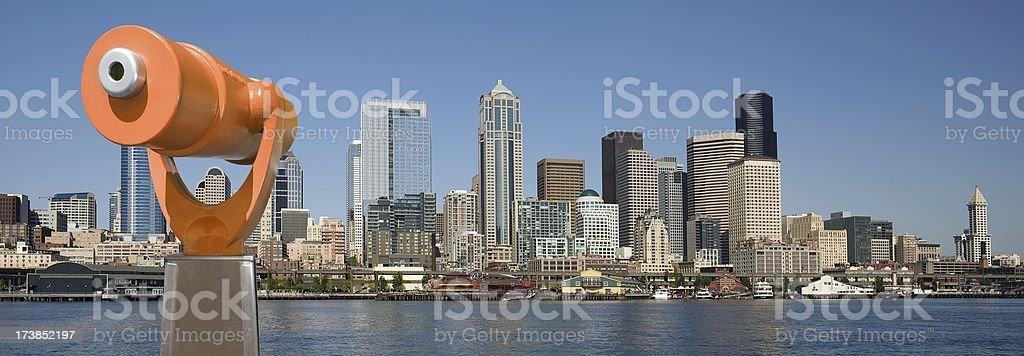 Downtown Seattle stock photo