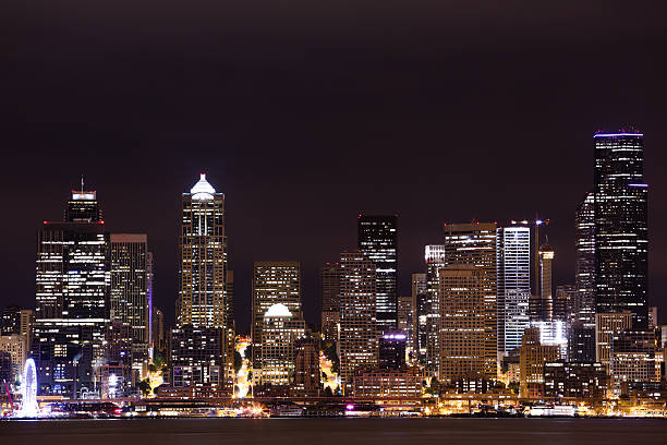 Downtown Seattle stock photo