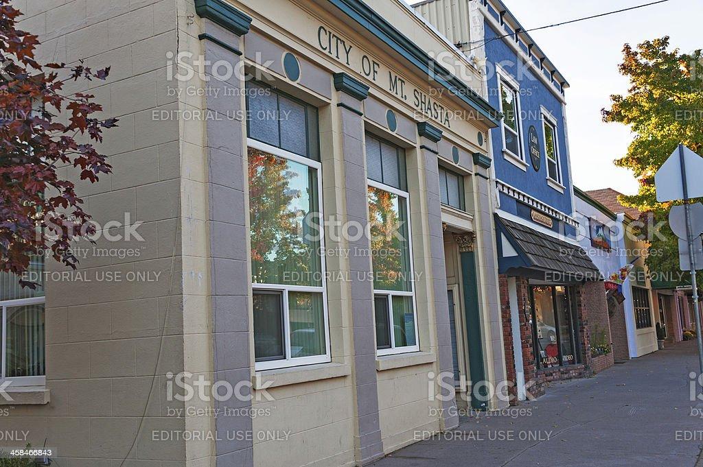 Downtown Shasta royalty-free stock photo