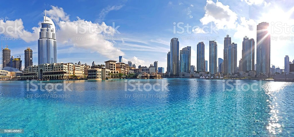 Downtown skyline stock photo