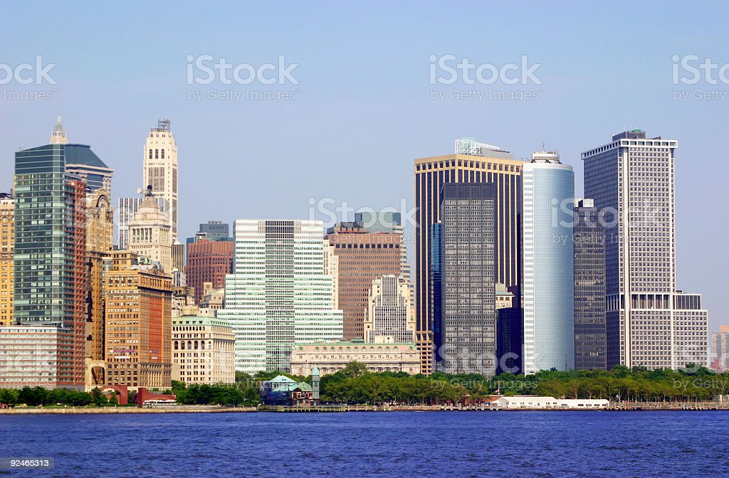 Downtown Skyline royalty-free stock photo