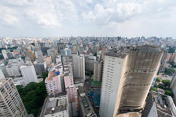 Der Innenstadt von São Paulo – Foto
