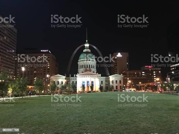 Die Innenstadt Von St Louis Mo Stockfoto und mehr Bilder von Architektur
