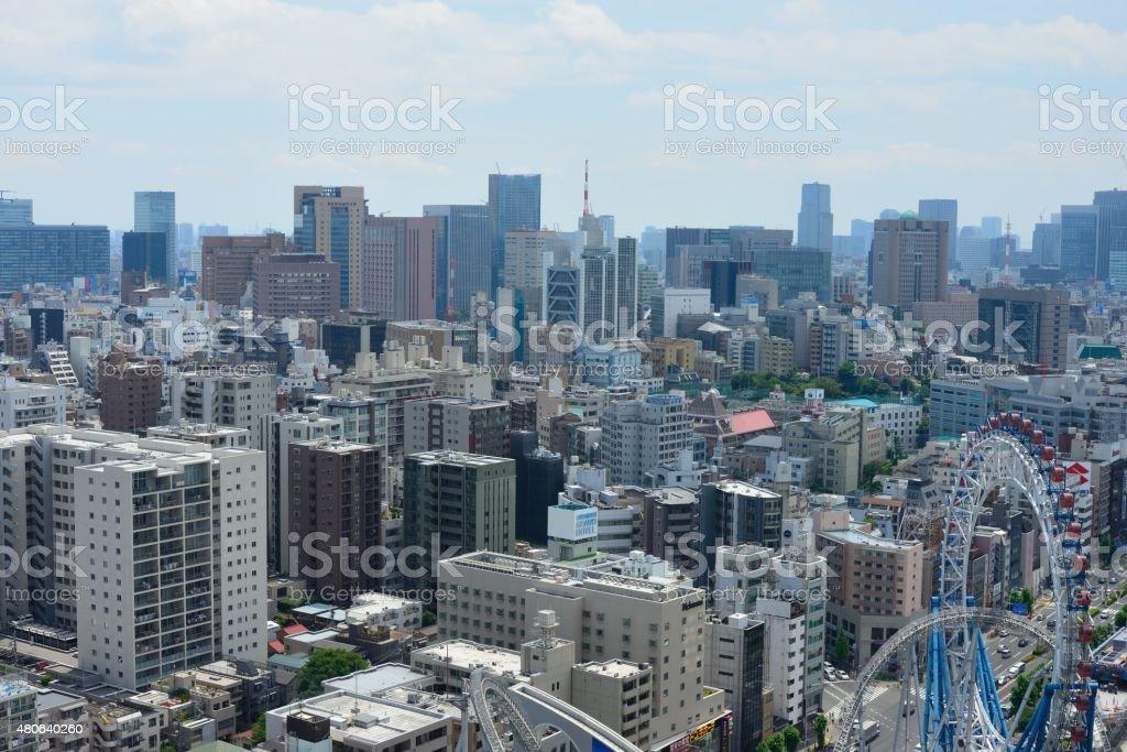Downtown Tokyo stock photo