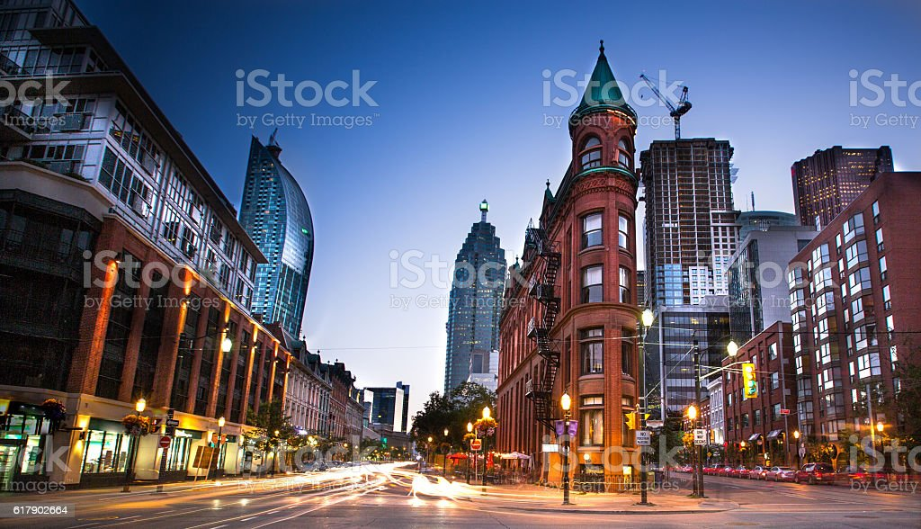 Downtown Toronto, Ontario stock photo