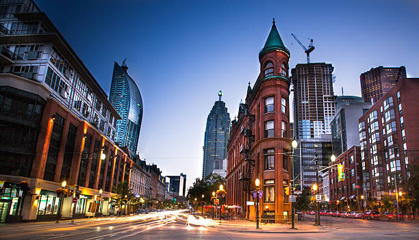 downtown toronto, ontario - canada stock photos and pictures