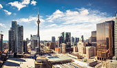 istock Downtown Toronto skyline panorama 1152870188