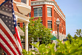 istock Downtown town square in Fayetteville, Arkansas 499498149