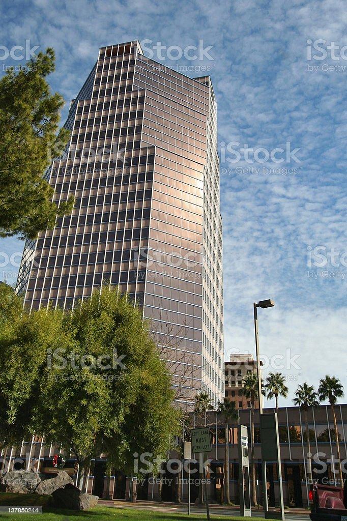Downtown Tucson royalty-free stock photo