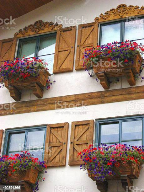 Downtown Vail Village - Stock Image