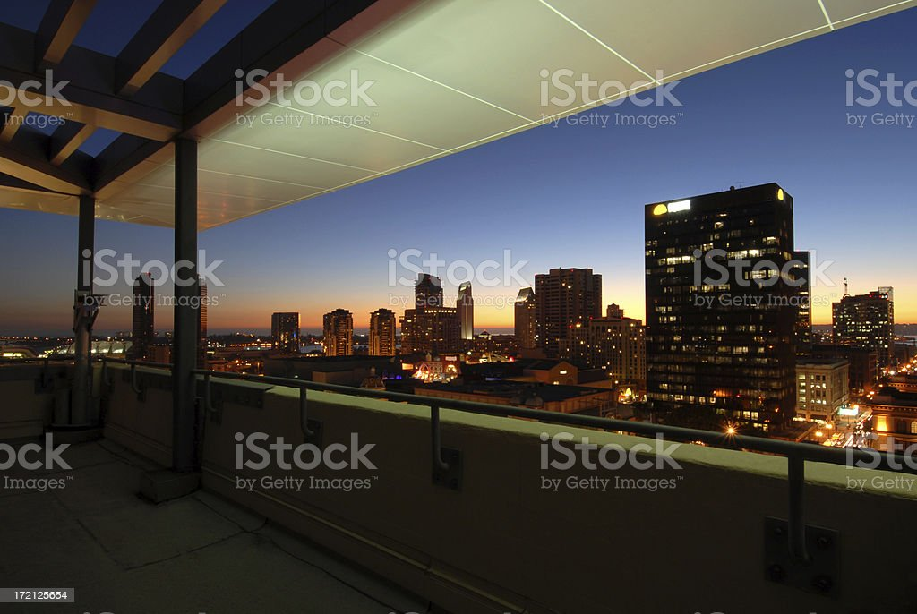 Downtown View royalty-free stock photo