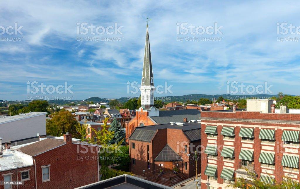 Downtown York, Pennsylvania stock photo