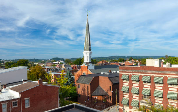 Downtown York, Pennsylvania stock photo