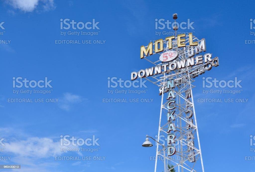 Downtowner Motel - Photo de Arizona libre de droits