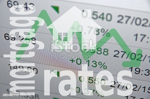 istock Downtrend Mortgage rates 485482112