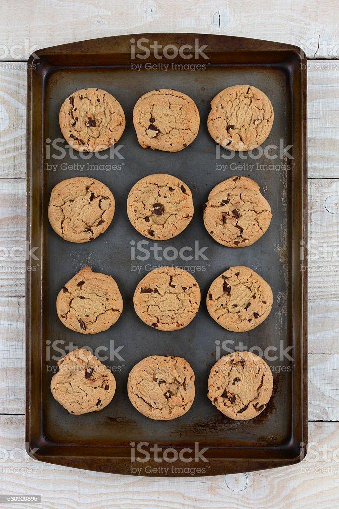 Dozen Cookies stock photo