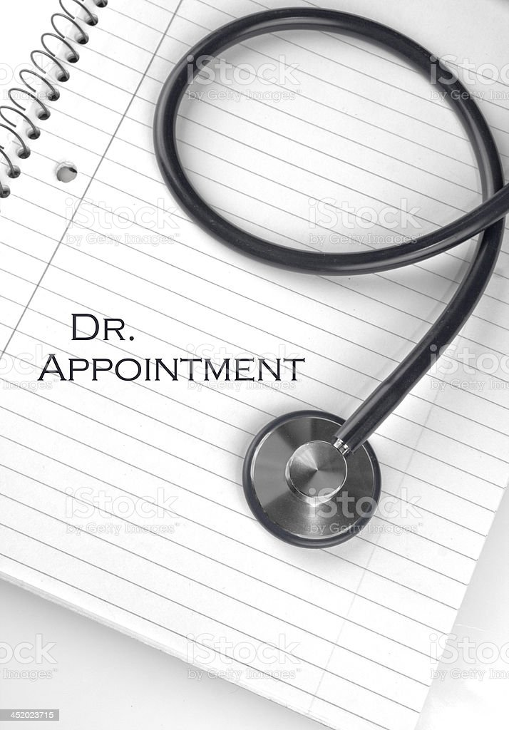 Dr. Appointment stock photo