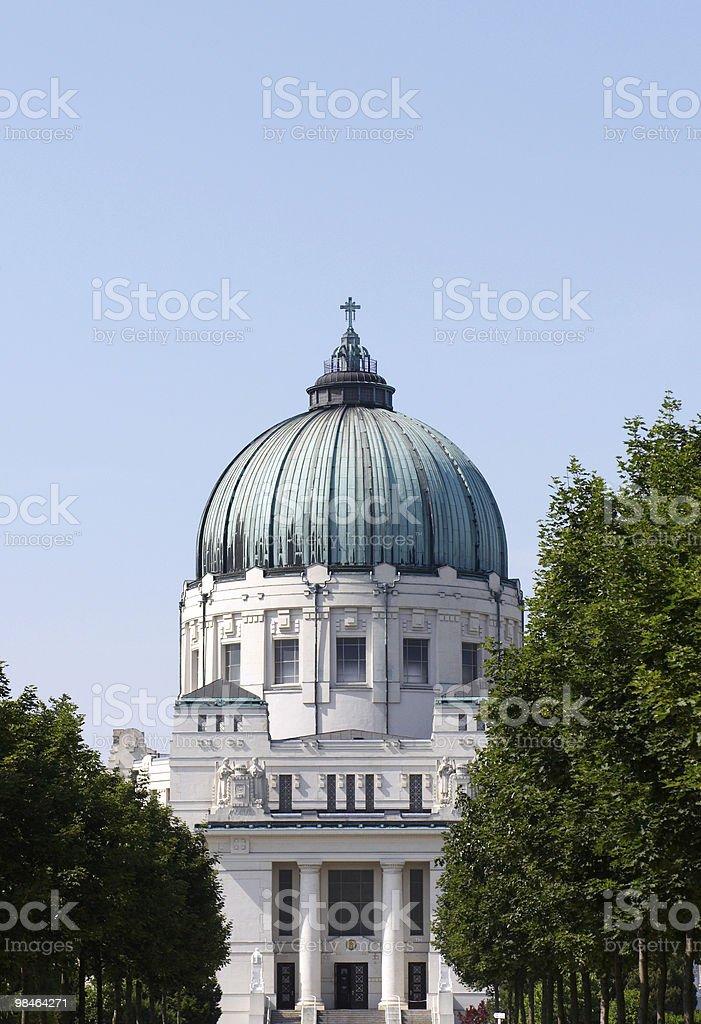 Dr. Karl Lueger-Gedächtniskirche foto stock royalty-free