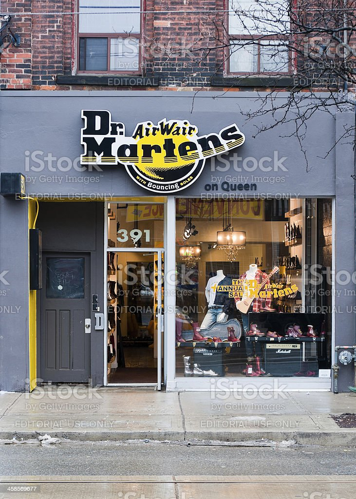 Dr. Martens royalty-free stock photo