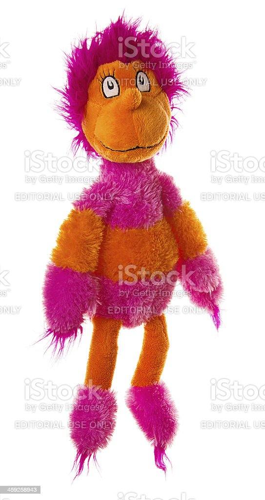 c2f83991 Dr Seuss Wocket In My Pocket Stuffed Toy Stock Photo & More Pictures ...