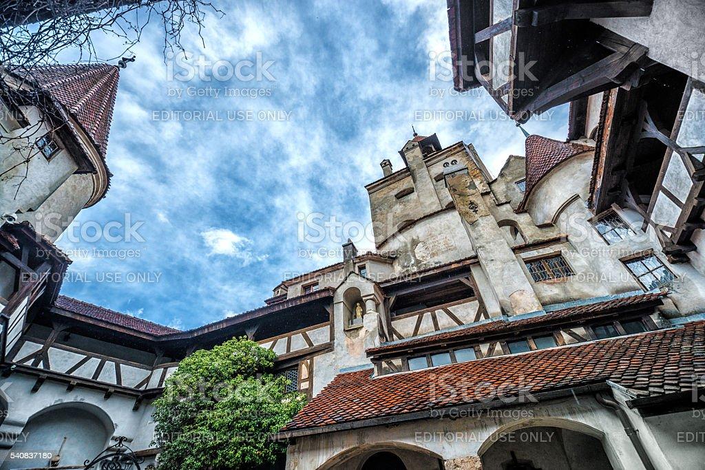 Dracula's Castle in Bran, Romania stock photo