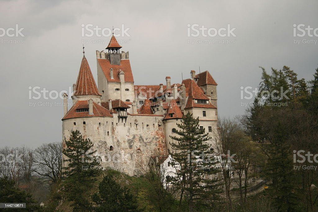 Dracula's Castle (Bran) royalty-free stock photo