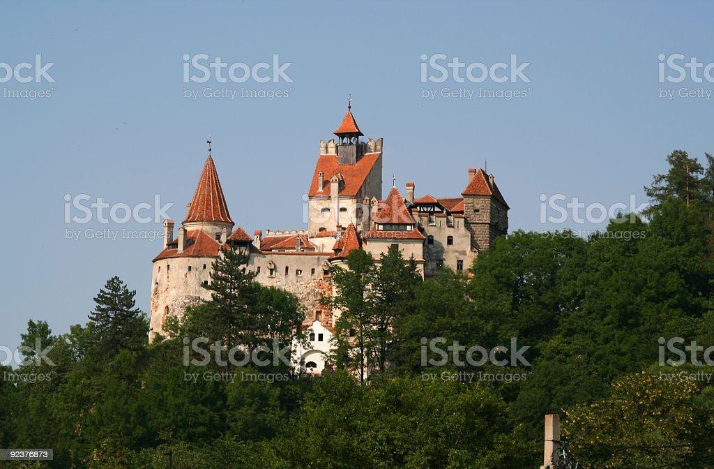 Dracula's Castle royalty-free stock photo
