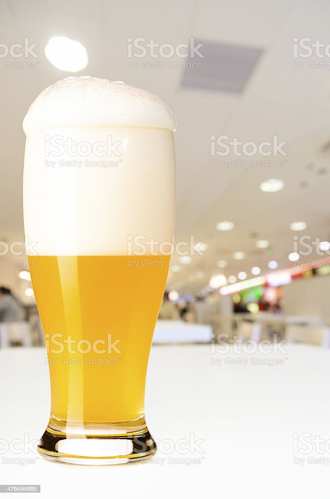 draft beer royalty-free stock photo
