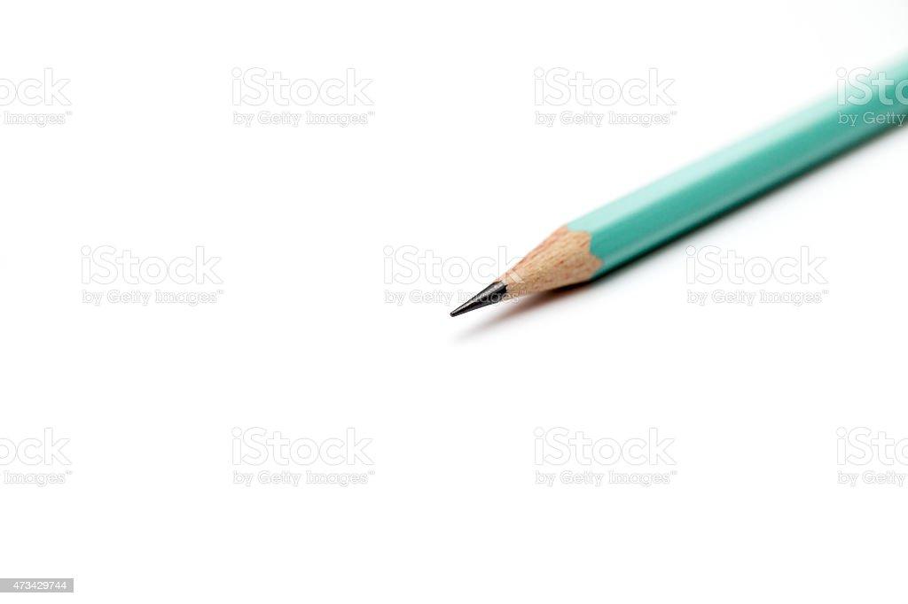 Sporządzanie papieru lub Papier milimetrowy z ołówka. – zdjęcie