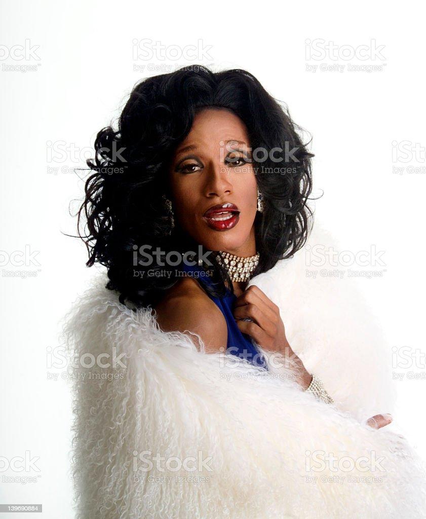 drag queen 1 stock photo