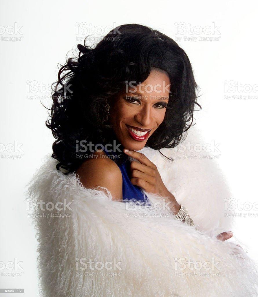 drag queen 2 stock photo
