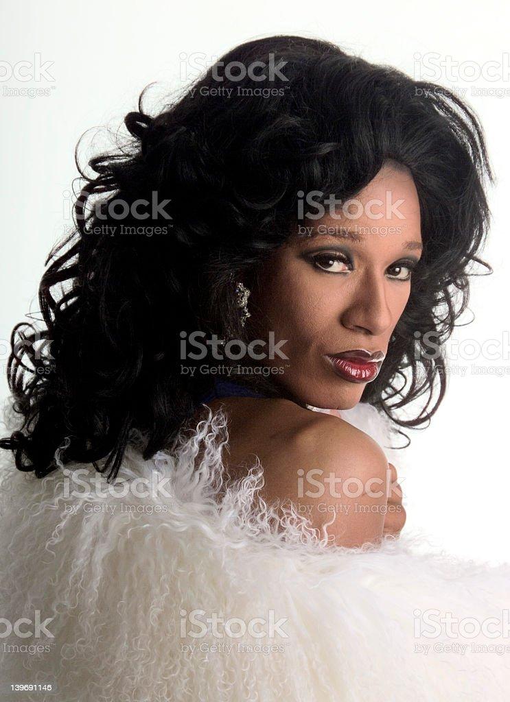 drag queen 4 stock photo