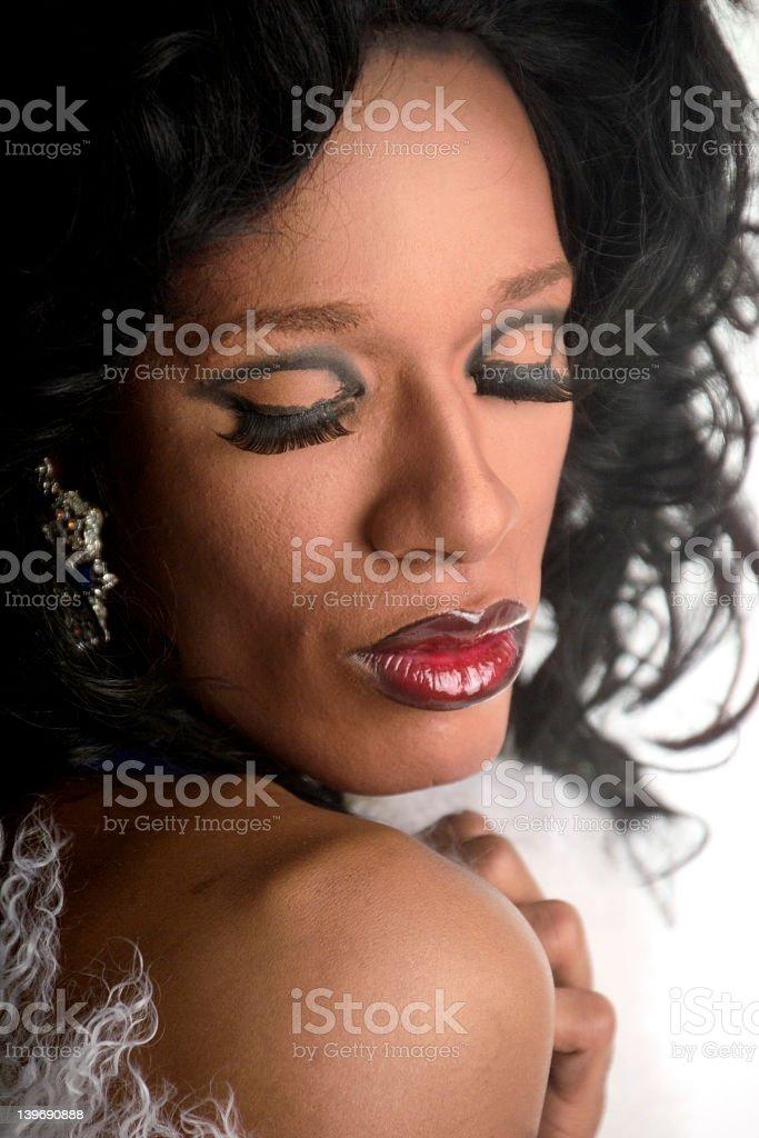 drag queen 6 stock photo