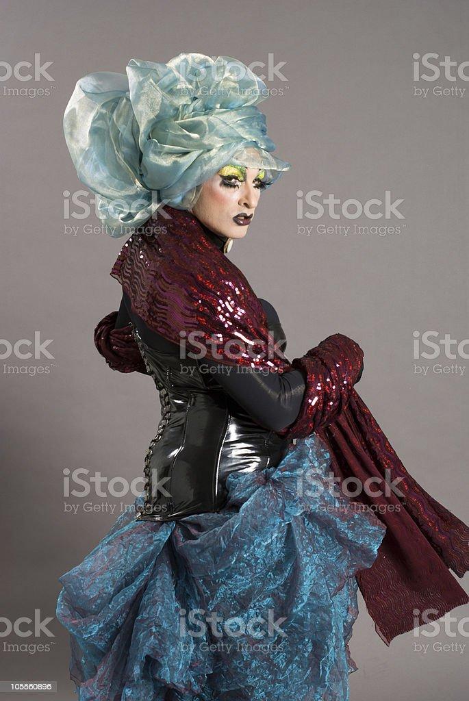 Drag Queen Daruma stock photo