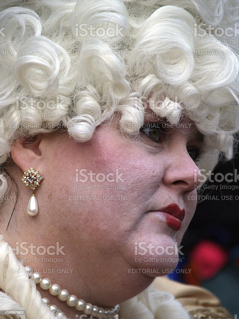 Drag Queen in Venice. royalty-free stock photo