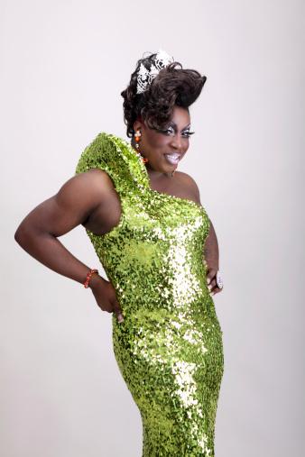 Drag Queen Stockfoto en meer beelden van Afrikaanse etniciteit