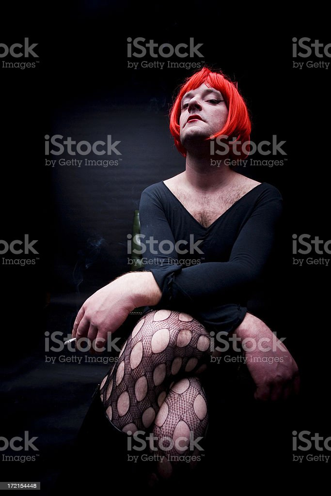 Drag Queen stock photo