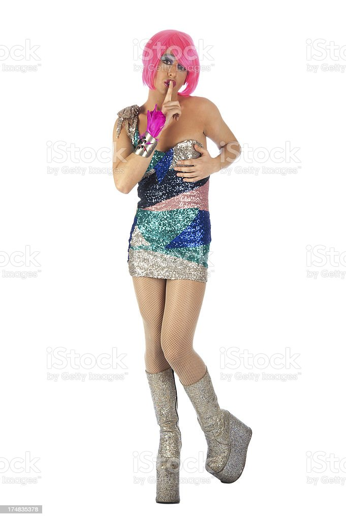 Drag queen royalty-free stock photo