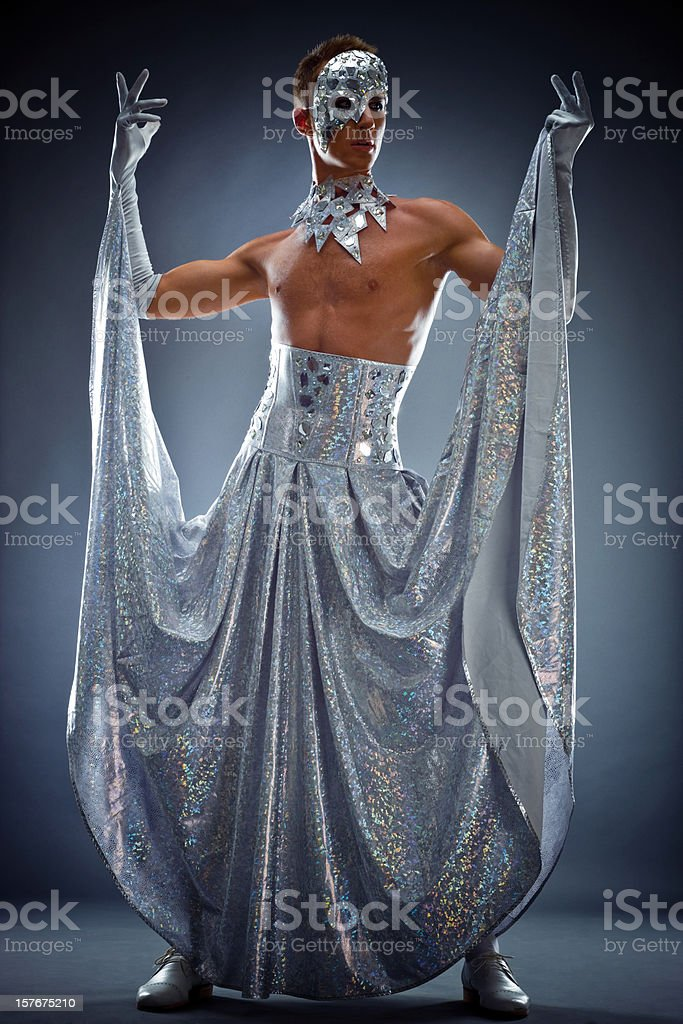Drag Queen Posing stock photo