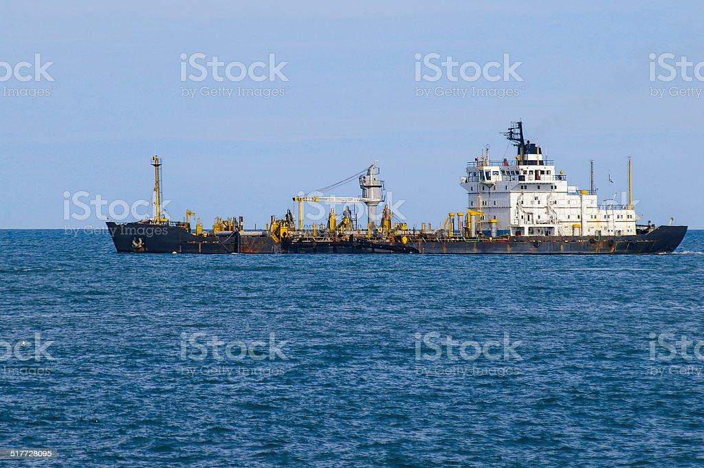 Draga in the Atlantic stock photo